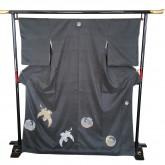 鶴亀の着物 Kimono of Crane & tortoise