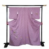 玩具の柄の着物 Kimono pattern of toy